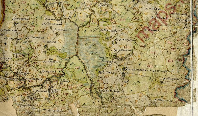 карта пермской области с деревнями 1924 года